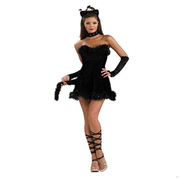 Disfraz de gata sexy halloween