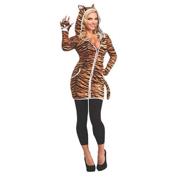 Disfraz de gata sexy con falda halloween