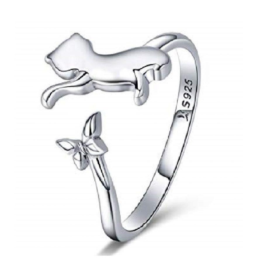 anillo de patita de gato