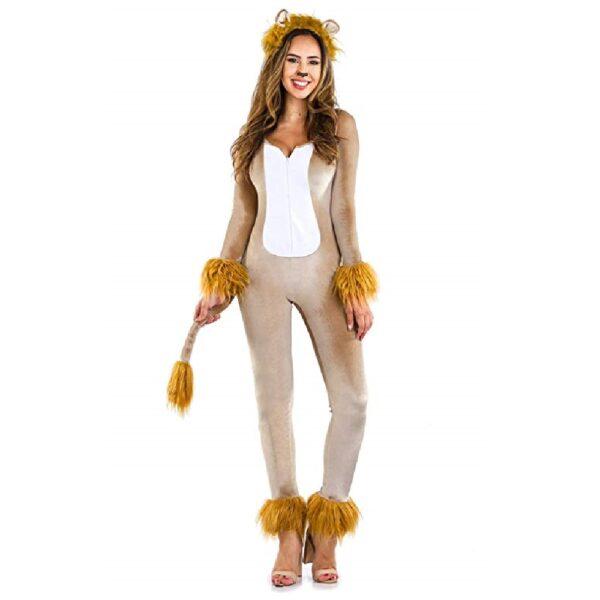 Disfraz de leona halloween
