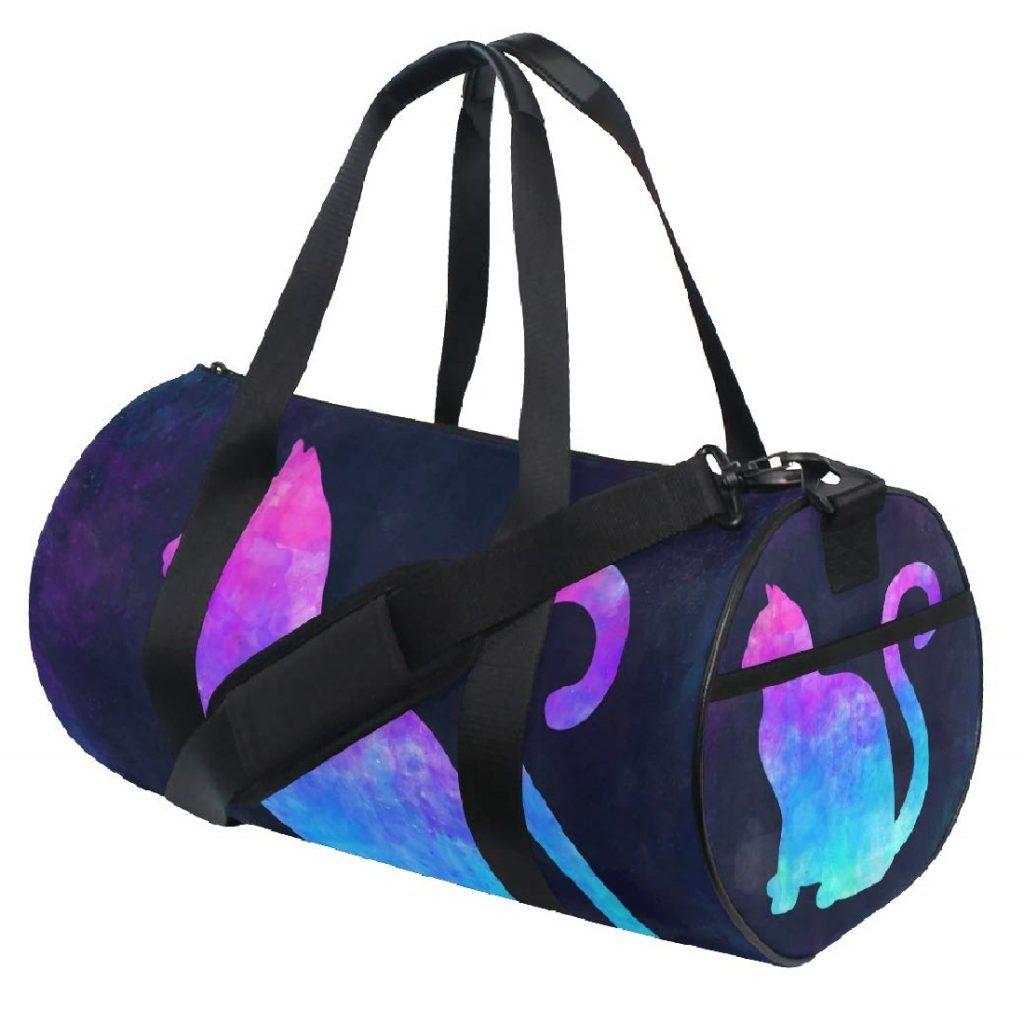 maletín deportivo mujer de gatos gym