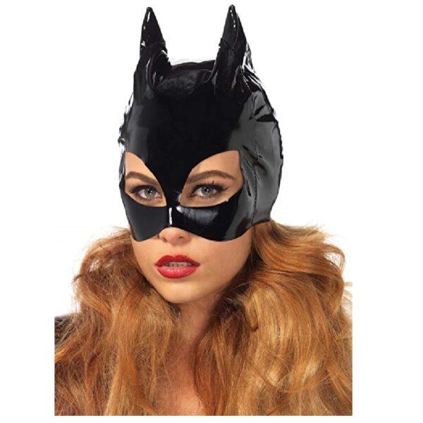 mascara de gato para halloween