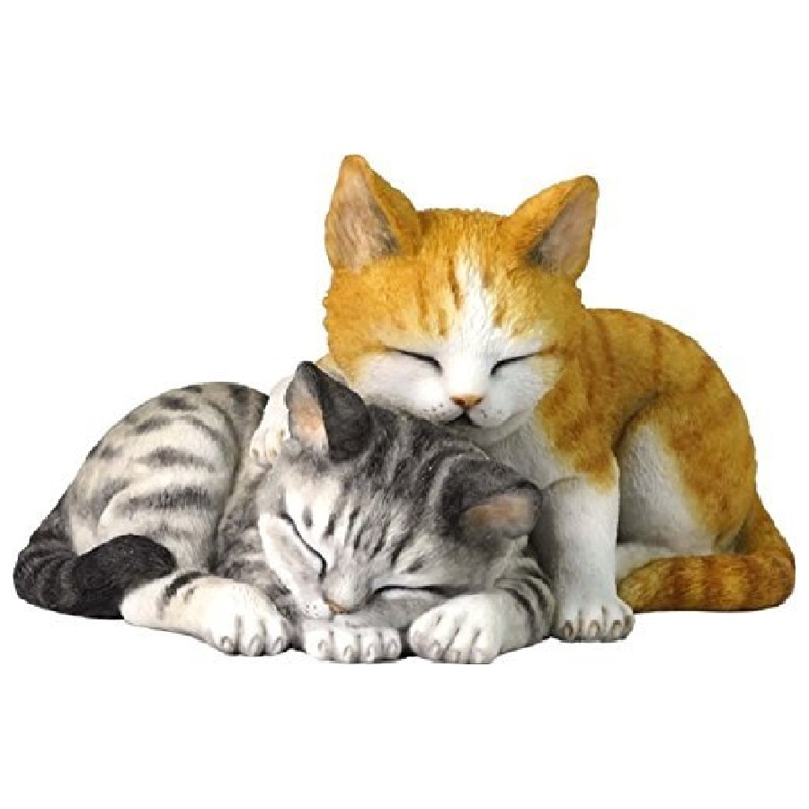 gatos en ceramica adornos