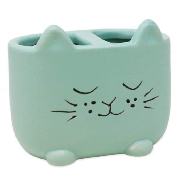 vaso de vidrio económico de gatos