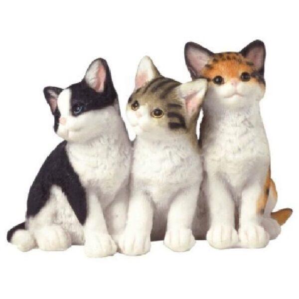 figura decorativa para el hogar de gatos