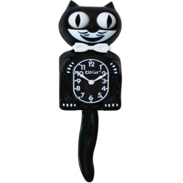 reloj de pared clásico de gatos