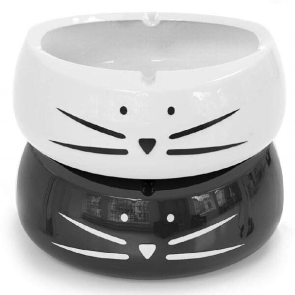 ceniceros de cerámica para cigarrillos de gatos
