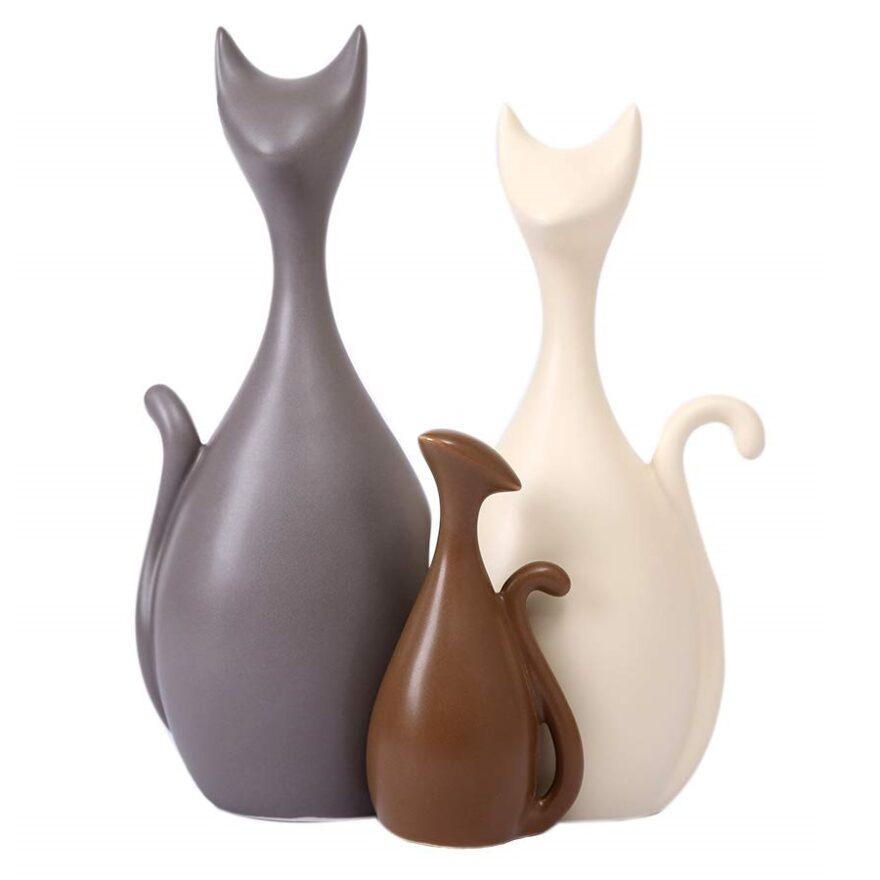 gatos de porcelana fria