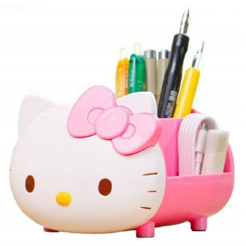 organizador de escritorio multifuncional de gatos
