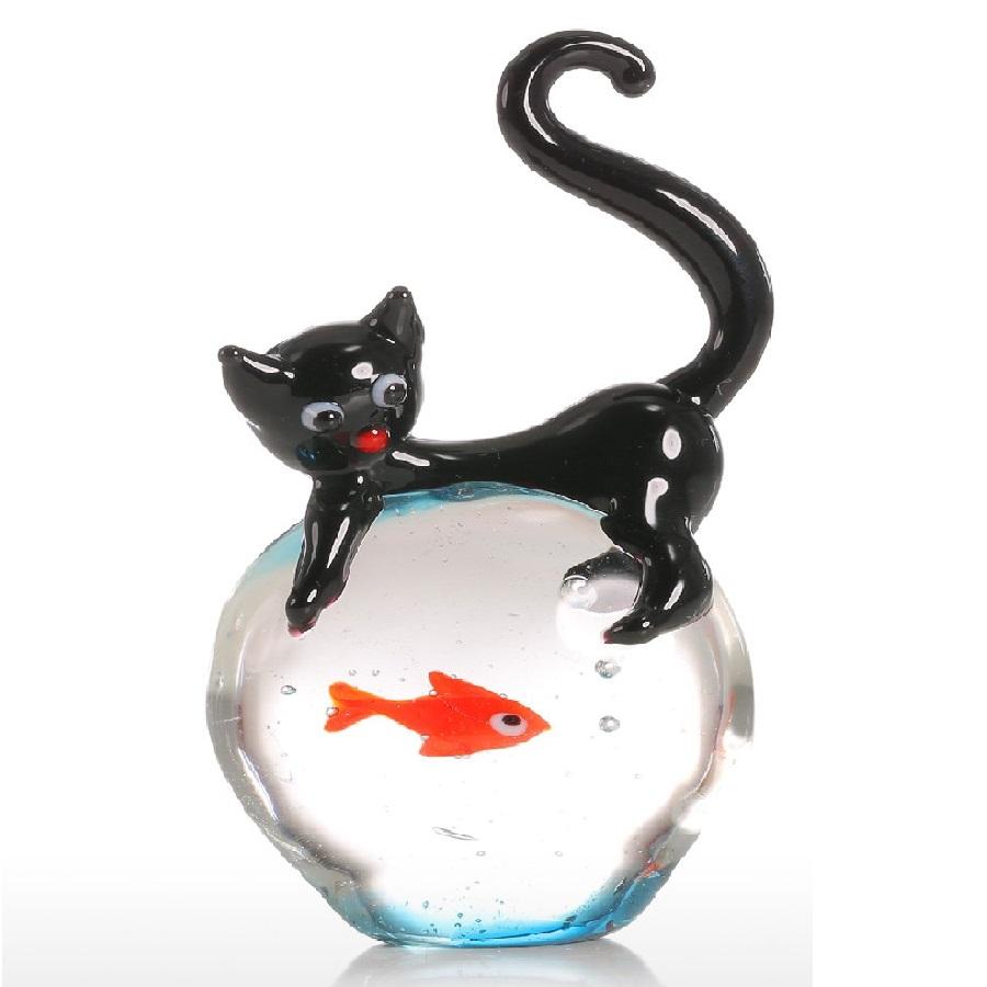 figura de gato decorativo
