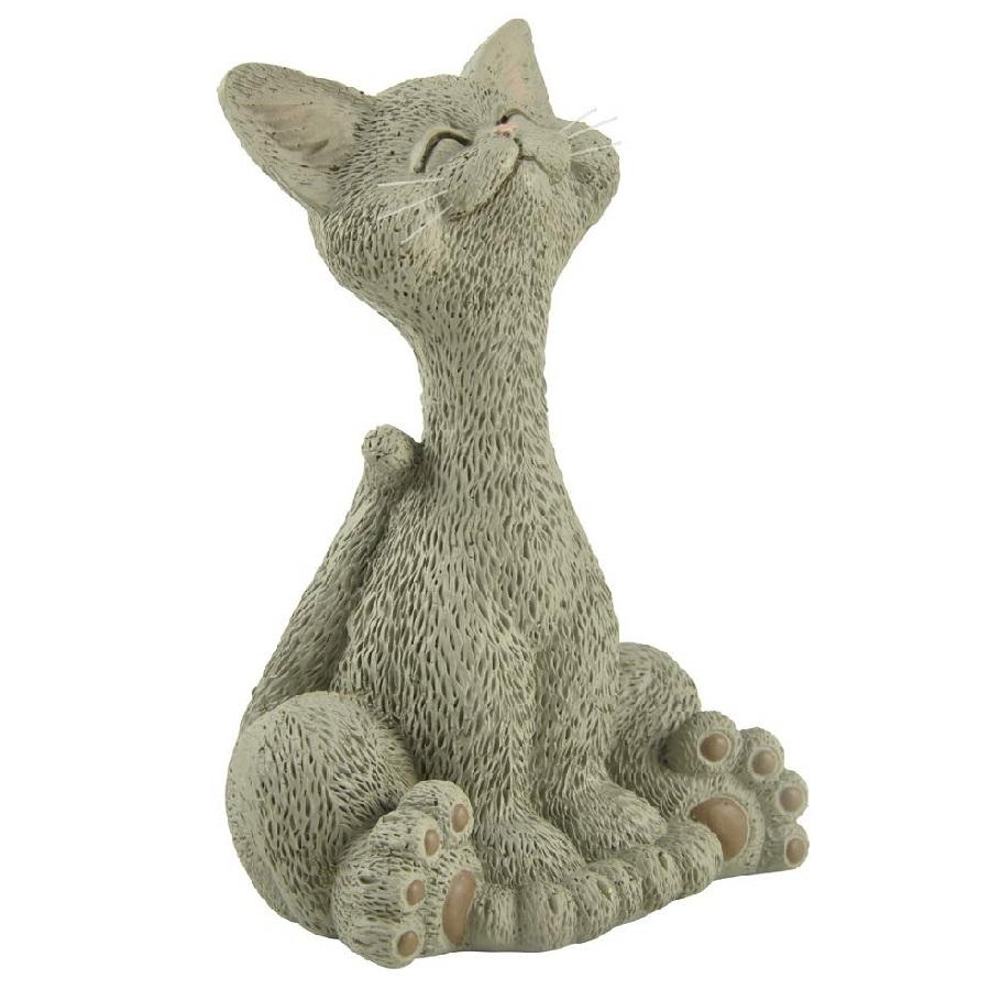 resina manualidades de gatos