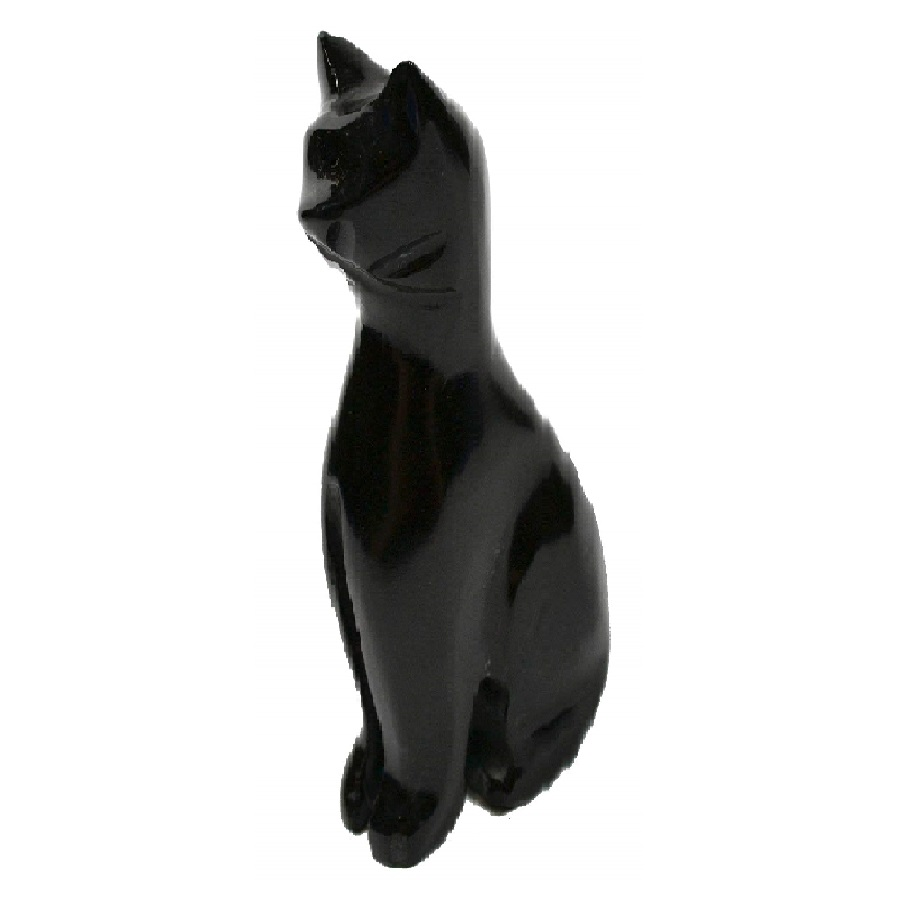 imágenes de gatos negros tallados