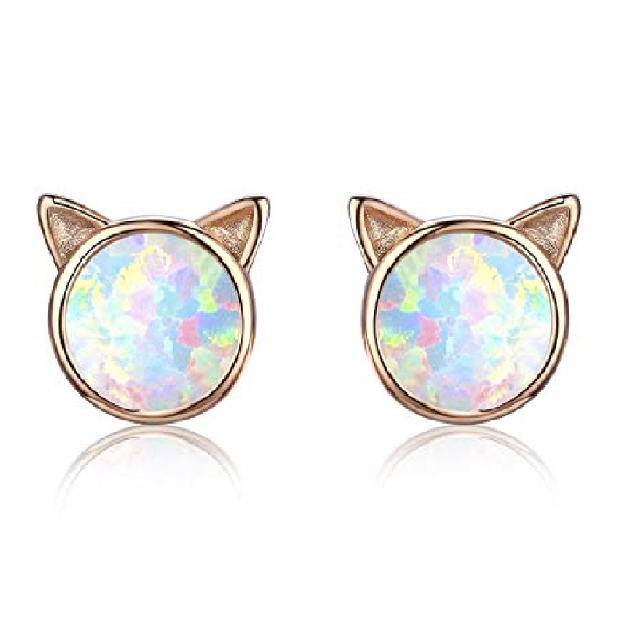 bisuteria en plata y piedras preciosas de gatos