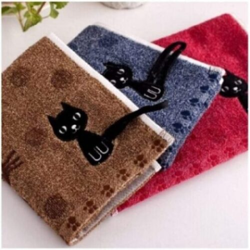 toallas de mano de algodón de baño de gatos