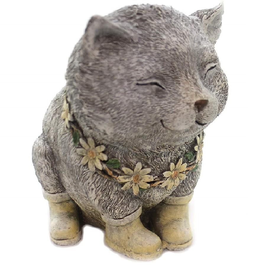 piedra polímero de gatos