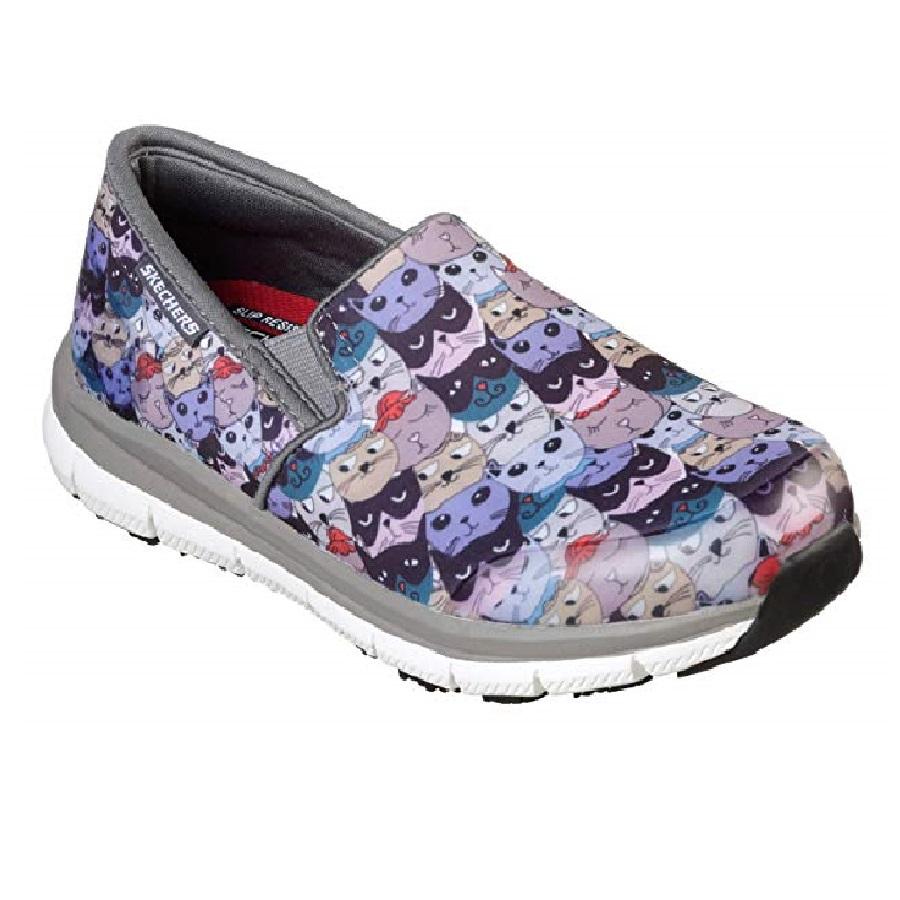 zapatillas de mujer de moda de gatos