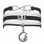 pulseras de moda mujer de gatos