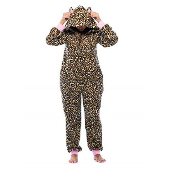 pijama enterizo mujer de gatos