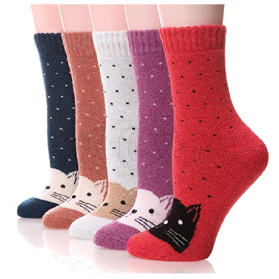 medias cortas para zapatillas de gatos