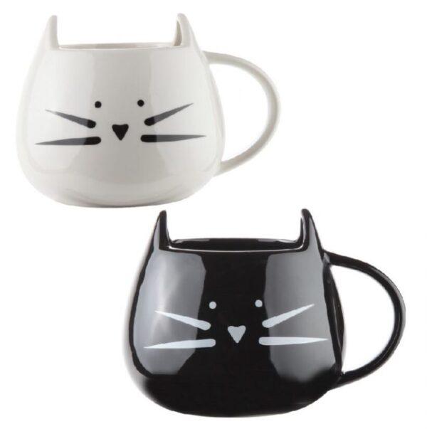 vasos en forma de pata de gato