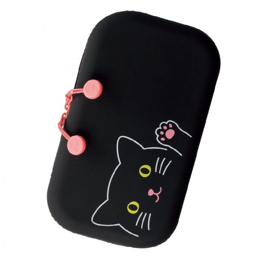 cartucheras grandes para mujer diseño de gatos