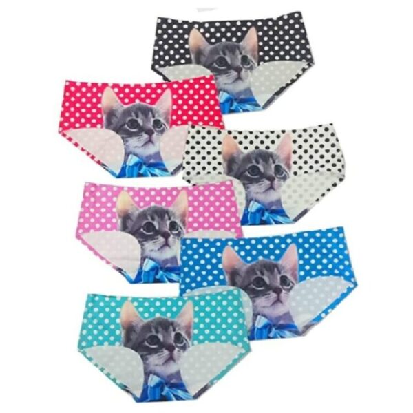 calzones de mujer joviales de gatos