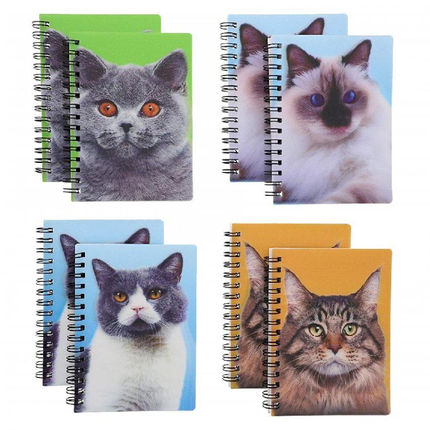 cuadernos de gatos personalizados