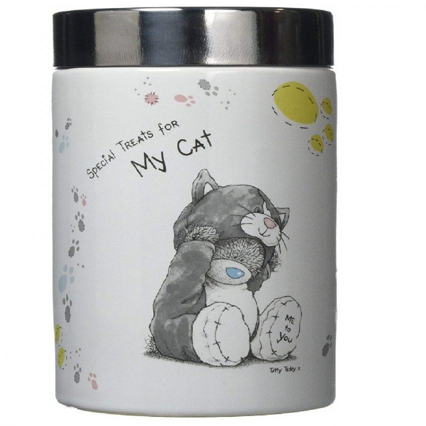 tarro de Almacenamiento de Alimentos para gatos
