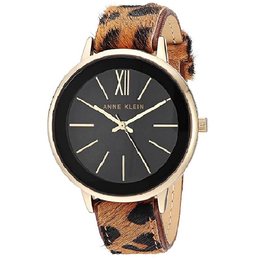 reloj de mujer animal print de gato leopardo