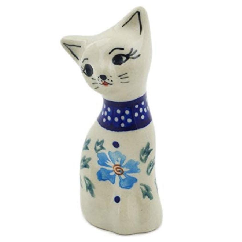 adorno gato de artesanía