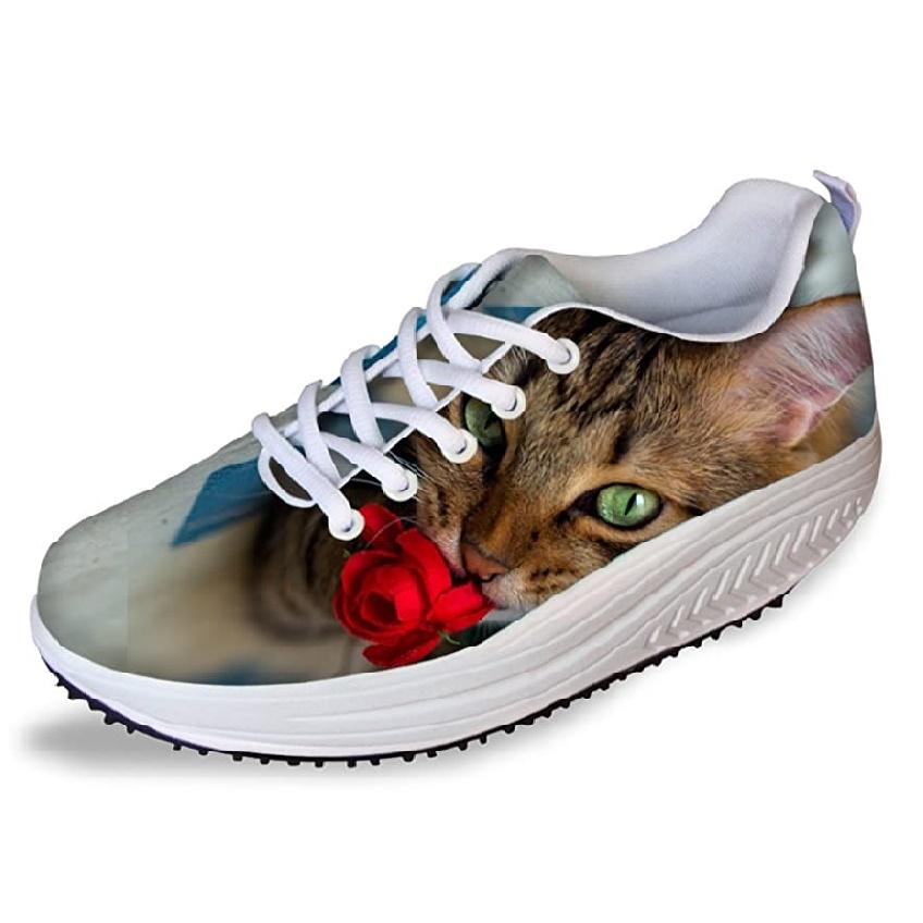 zapatillas de mujer con dibujo de gato