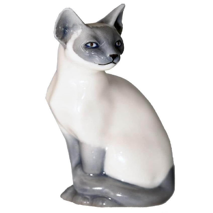 estatuas de gatos en resina