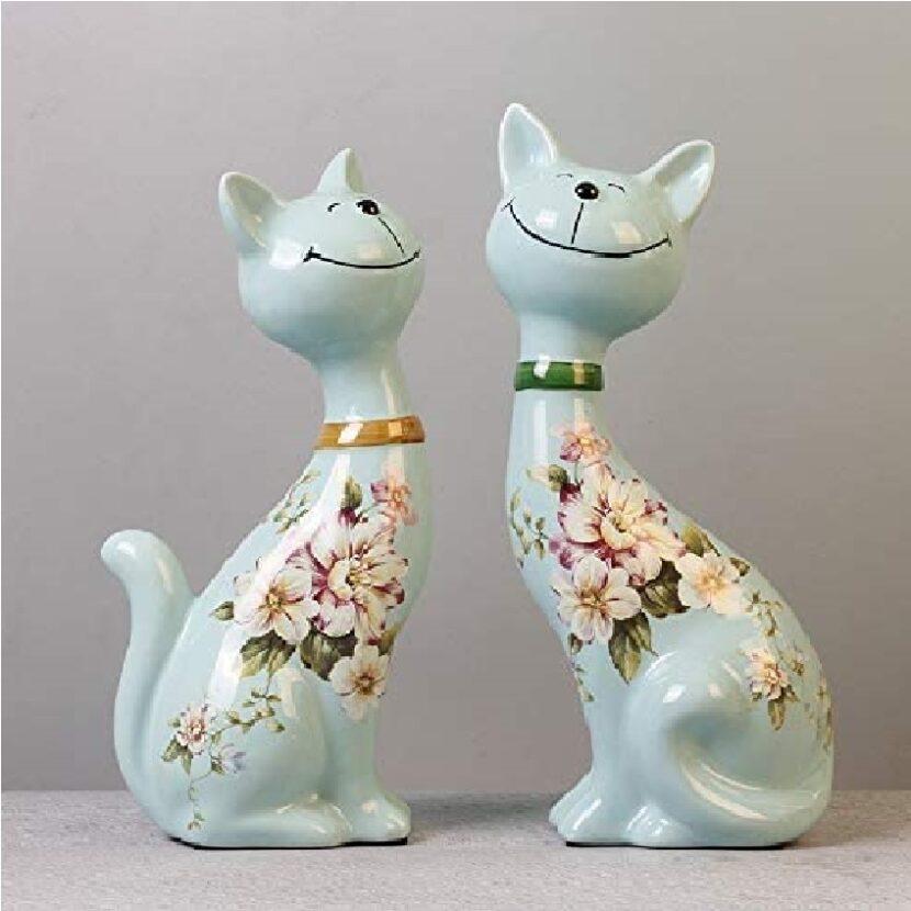 gatos decorativos para casa