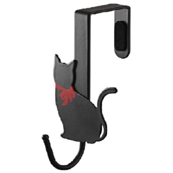 Perchero gancho para puerta de gato