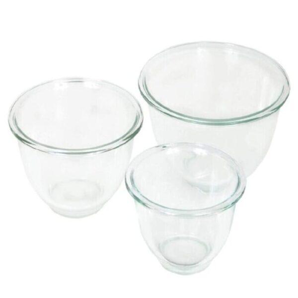 Pyrex Glass, recipientes de vidrio