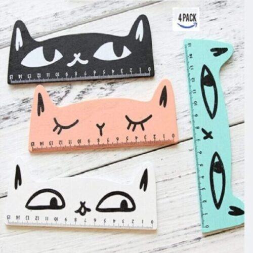 regla de medición de gato