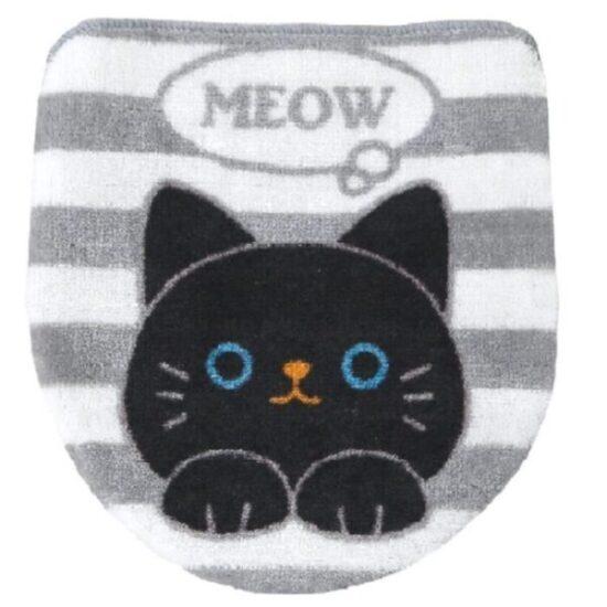protector de tapa de inodoro de gato