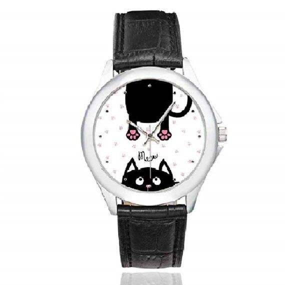 relojes de mujer modernos diseño de gatos