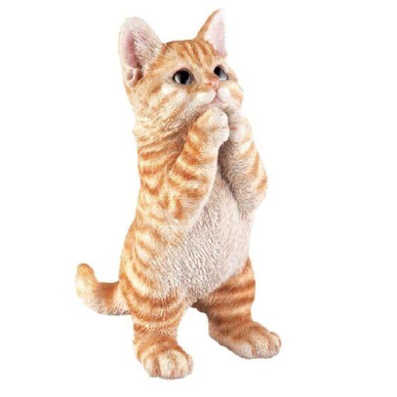 gato de cerámica para la casa