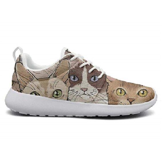zapatillas de mujer de gato