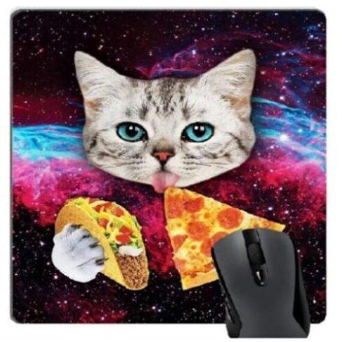 alfombrilla ratón personalizada de gatos