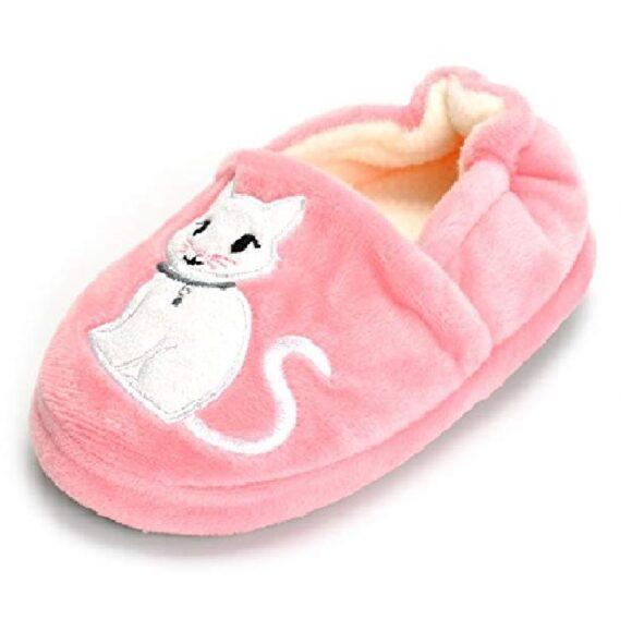 pantufla de mujer de gato