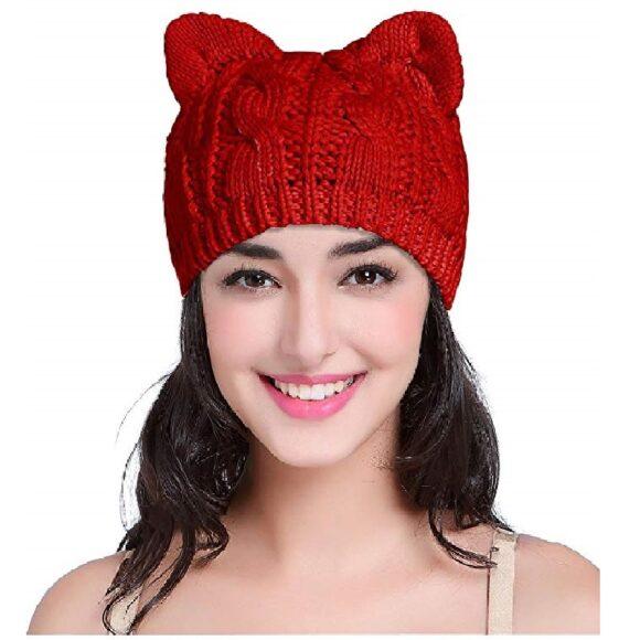 gorro de gatos de moda