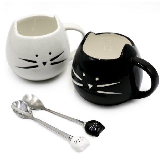 taza personalizada de gato