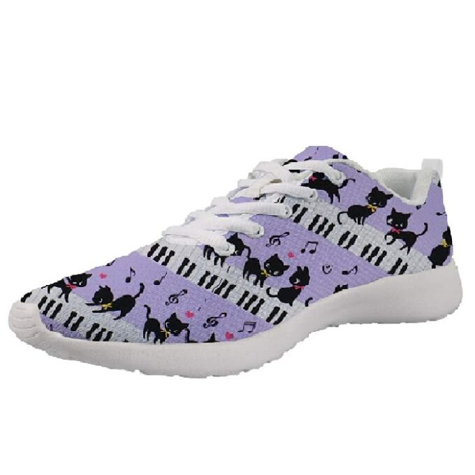 zapatillas de mujer deportiva de moda de gato