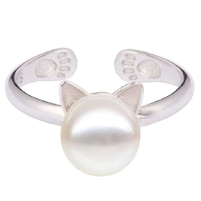 anillos de mujer juveniles de gatos