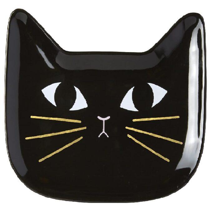 plato porta joyas de baño de gatos
